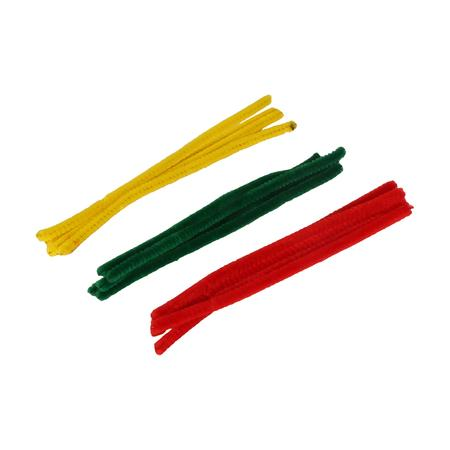 PIPE ACCESSORIES, PIPES, Little Goa, Assorted Color Pipe Cleaner-6 Inch(Pack Of 50)